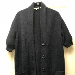 Vince navy cardigan size small